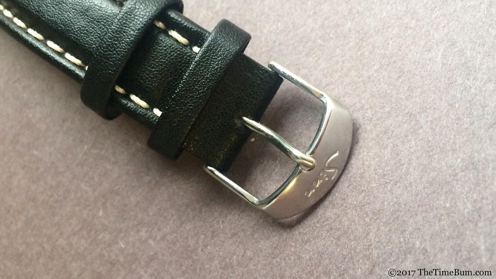 Sinn 103 St acrylic strap buckle