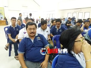 Pengurus PWI Kab.Takalar,Pasang Spanduk Ucapan HPN Ke 72 Tahun 2017