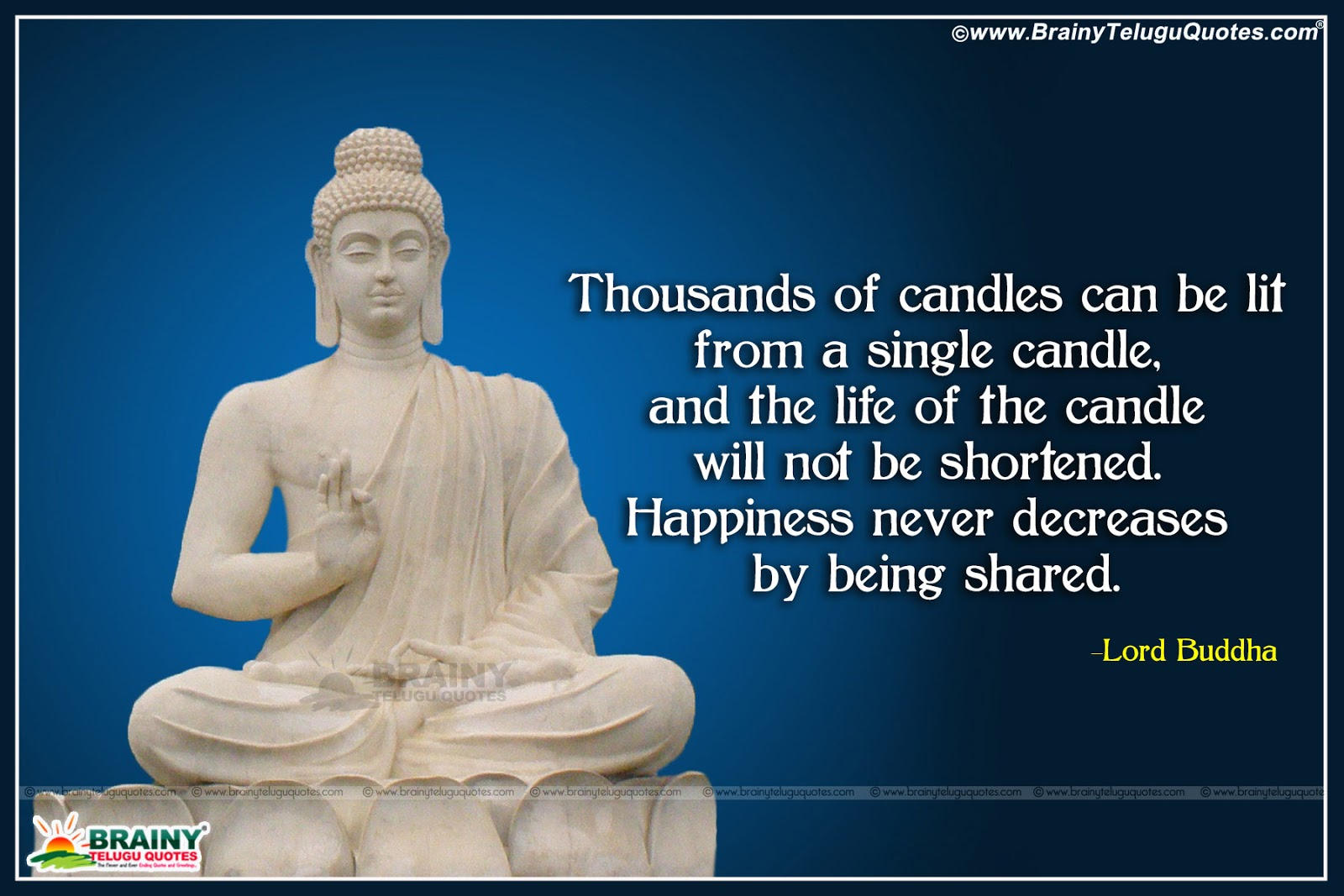 Best Buddha Happiness Quotes And Sayings In English With