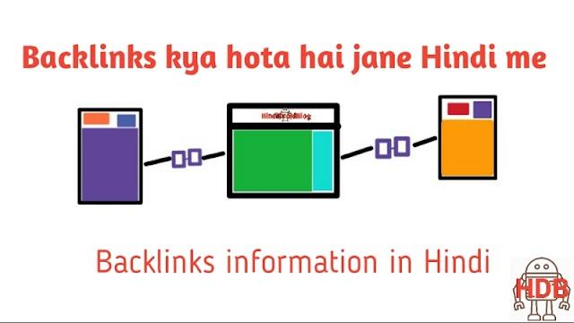 What is backlinks in hindi aur backlinks kaise banaye 2019?