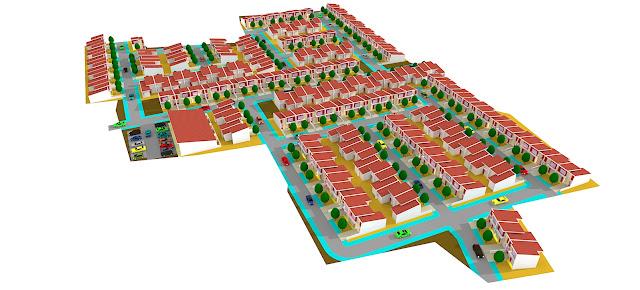 site plan rumah
