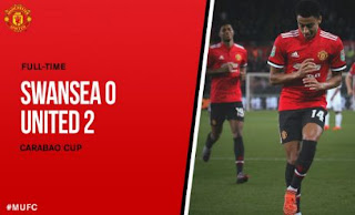 Swansea City vs Manchester United 0-2 Highlight - Piala Liga Inggris