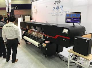 Xaar  1201 baskı kafalı yeni bir makine , DGEN Papyrus740k görücüye çıktı.