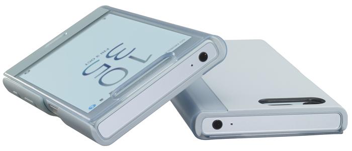 SCTF20をつけた状態で、XPERIA X Compactを卓上ホルダで充電できる