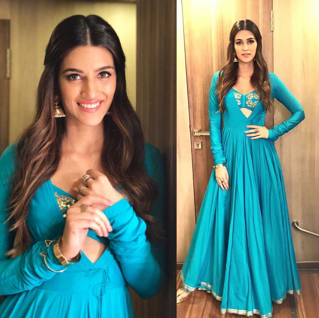 Kriti Sanon at Bareilly ki Barfi Promotions