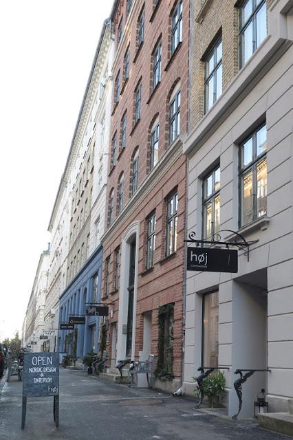 Høj interiors store on Jægersborggade, Copenhagen