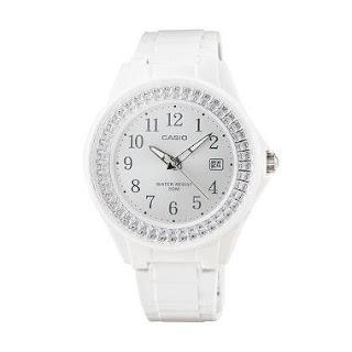 Jam Casio Wanita Terbaru Warna Putih