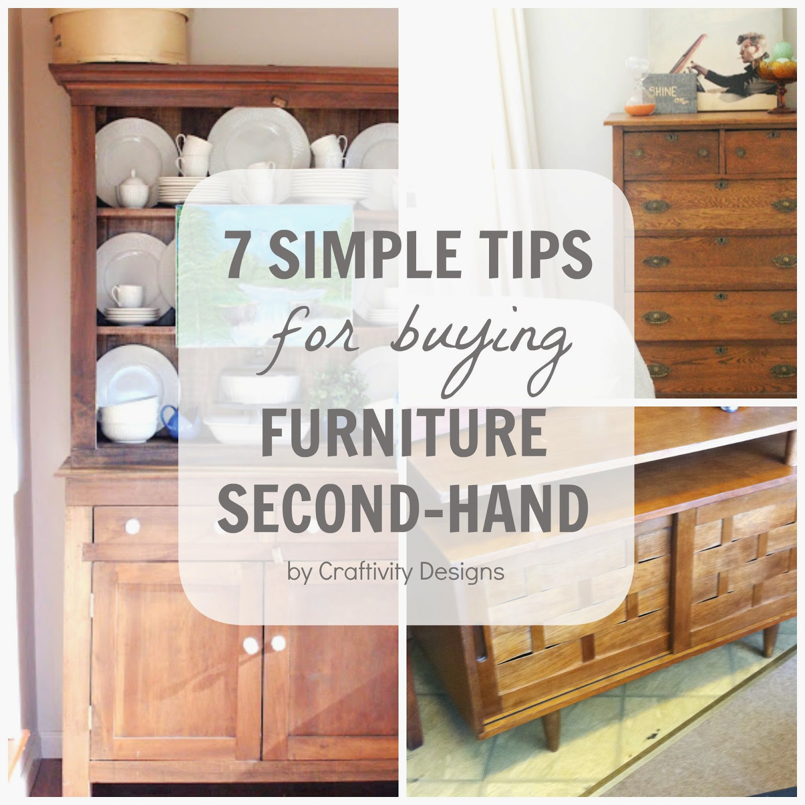 7 simple tips for buying furniture second hand craftivity designs. Black Bedroom Furniture Sets. Home Design Ideas