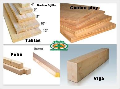 Productos maderables de cuale como se hace el cimbrado y - Tablas de madera a medida ...