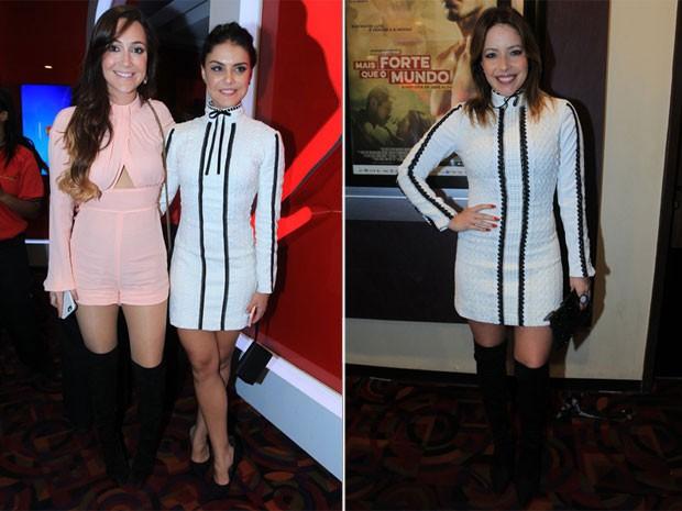 Paloma Bernardi e Renata Dominguez, par de jarros / vasos, vestido