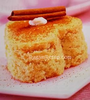 Resep Roti Cake Pisang Rendah Lemak