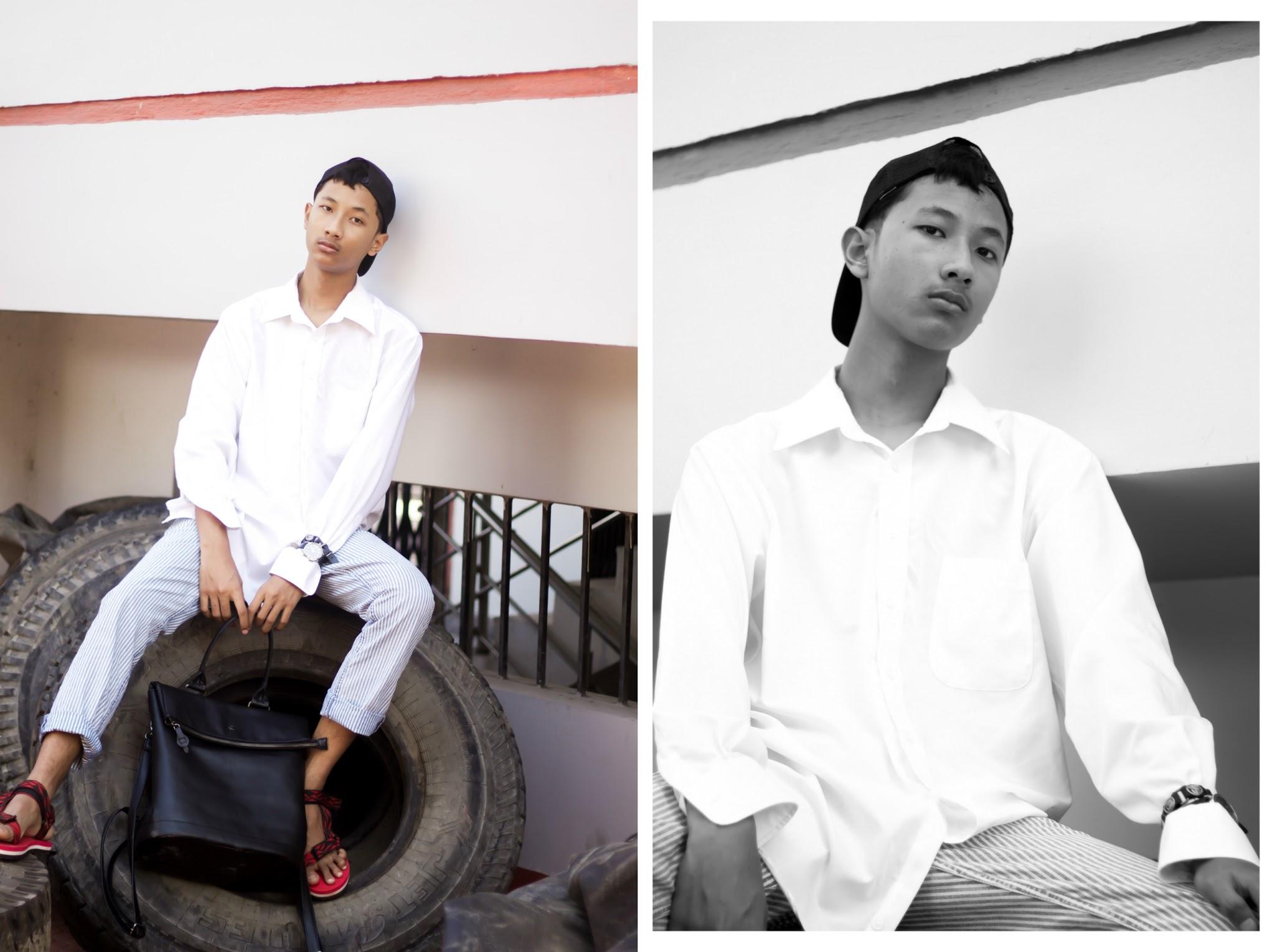 TheQuirkyMinimal by Kangkan Rabha Indian Menswear fashion blog Wearing Berfolk tote bag and Koovs Sandals