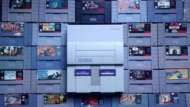Colecao do Super Nintendo