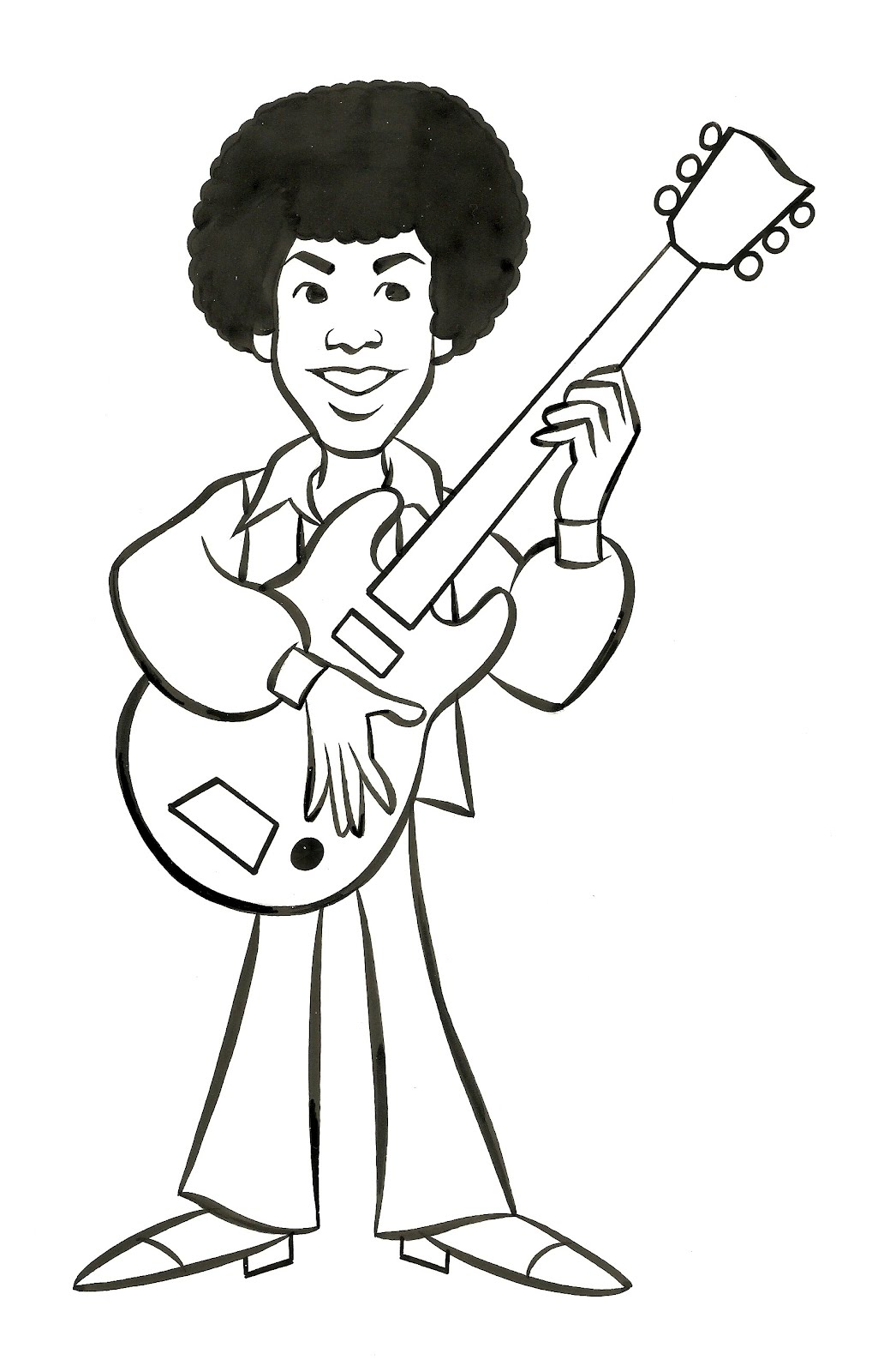 patrick owsley cartoon art and more   jackson 5