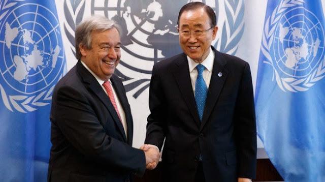 Guterres, former Portuguese PM, appointed UN secretary-general