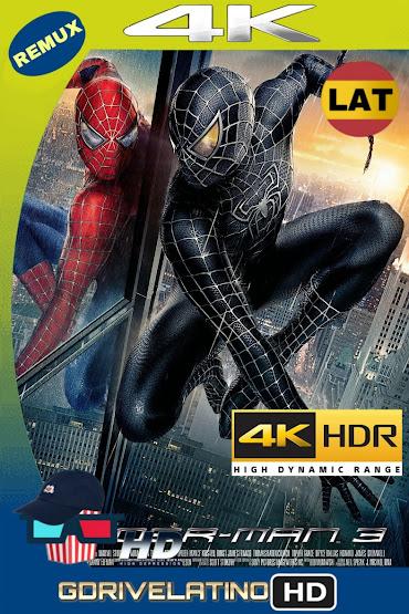 El Hombre Araña 3 (2007) BDRemux 4K HDR Lat-Cas-Ing MKV
