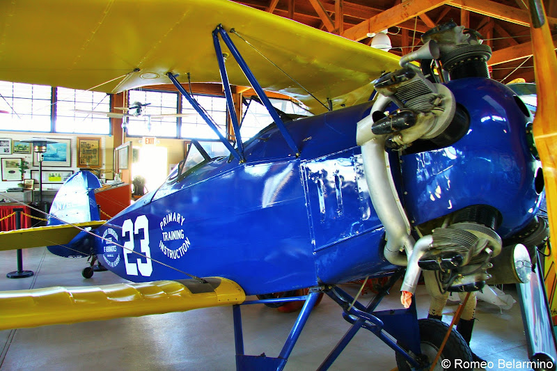 1929 Fleet Biplane Santa Maria Museum of Flight Central California Weekend Getaway