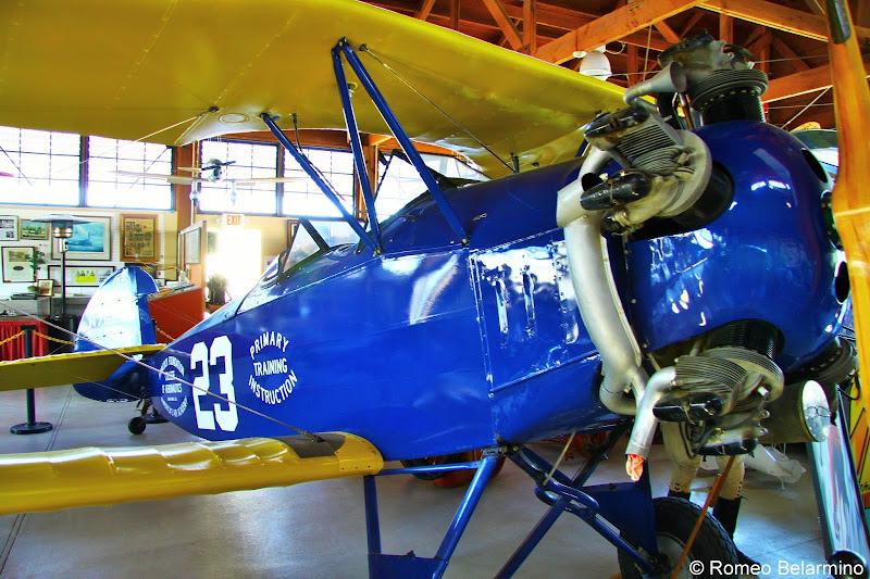 1929 Fleet Biplane Santa Maria Museum of Flight Central California Weekend Getaway