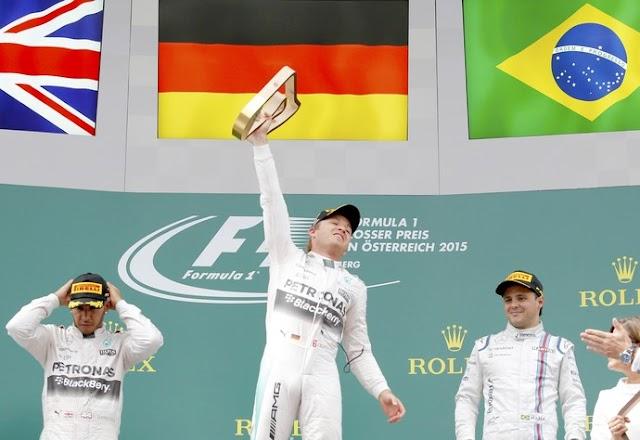 Massa aguenta pressão de Vettel e consegue o 1° pódio na temporada;
