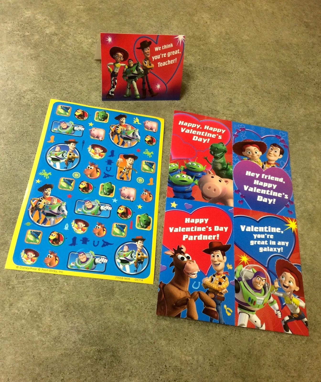 Dan The Pixar Fan Toy Story Hallmark Valentines
