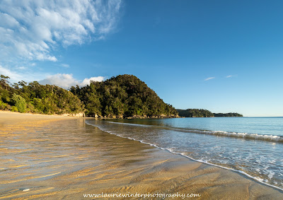 Beach Abel Tasman National Park Great Walk Anchorage Hut