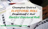 Champhai District Electoral Roll TLANGZARH