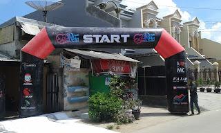 Balon Gate Start Finish