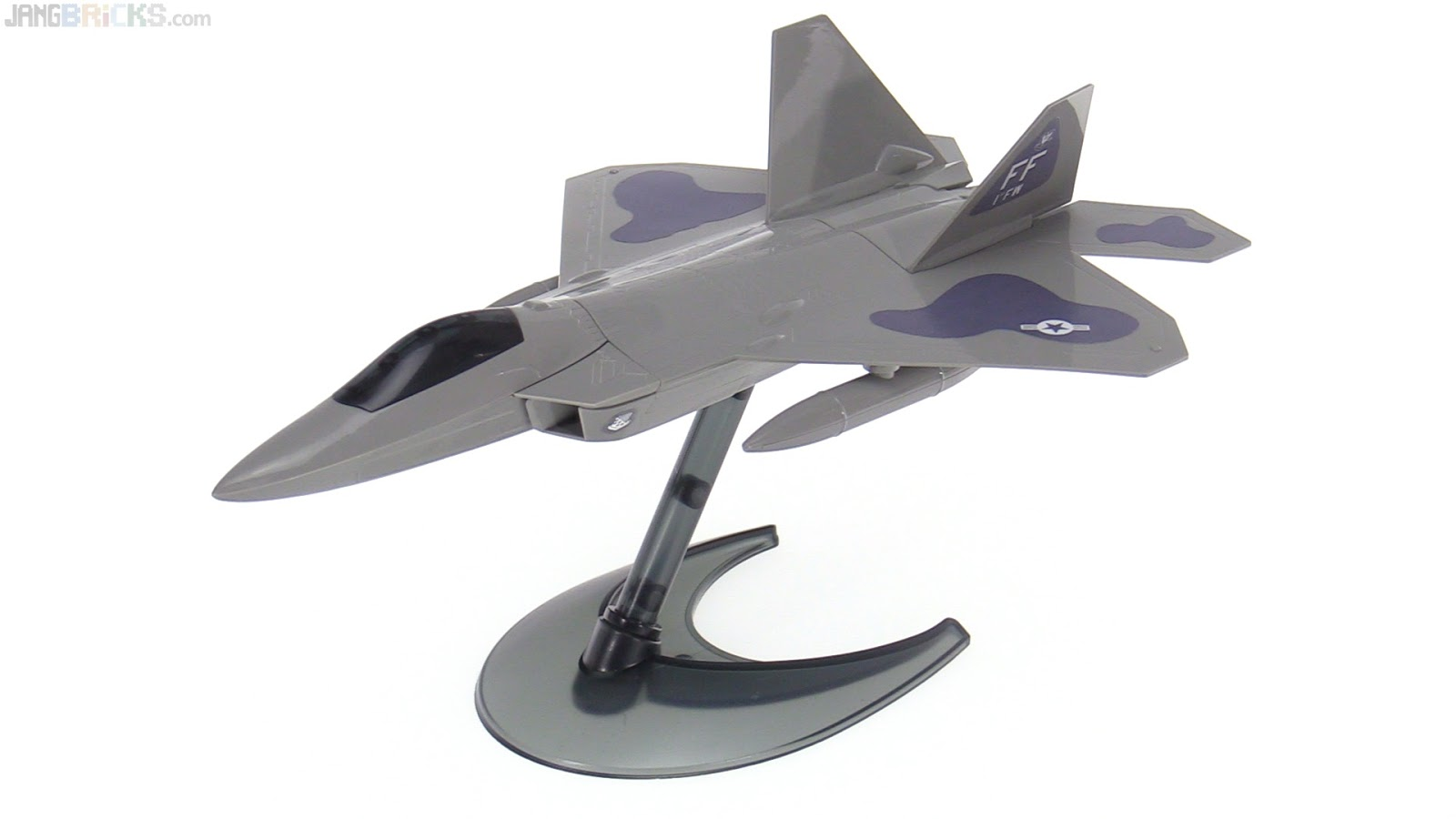 Airfix Quick Build F 22 Raptor model review