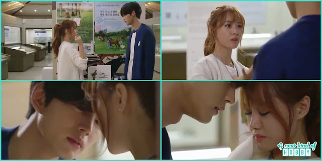 kwang tae tried to kiss mal ja - Longing For Spring korean Drama