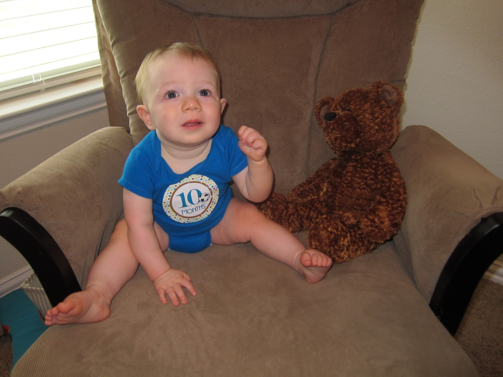 Here Come the Cummings: Happy 10 Months Coop!