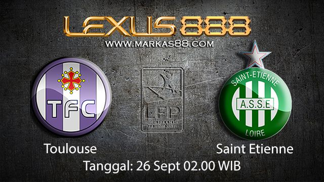 Prediksi Bola Jitu Toulouse vs Saint Etienne 26 September 2018 ( French Ligue 1 )