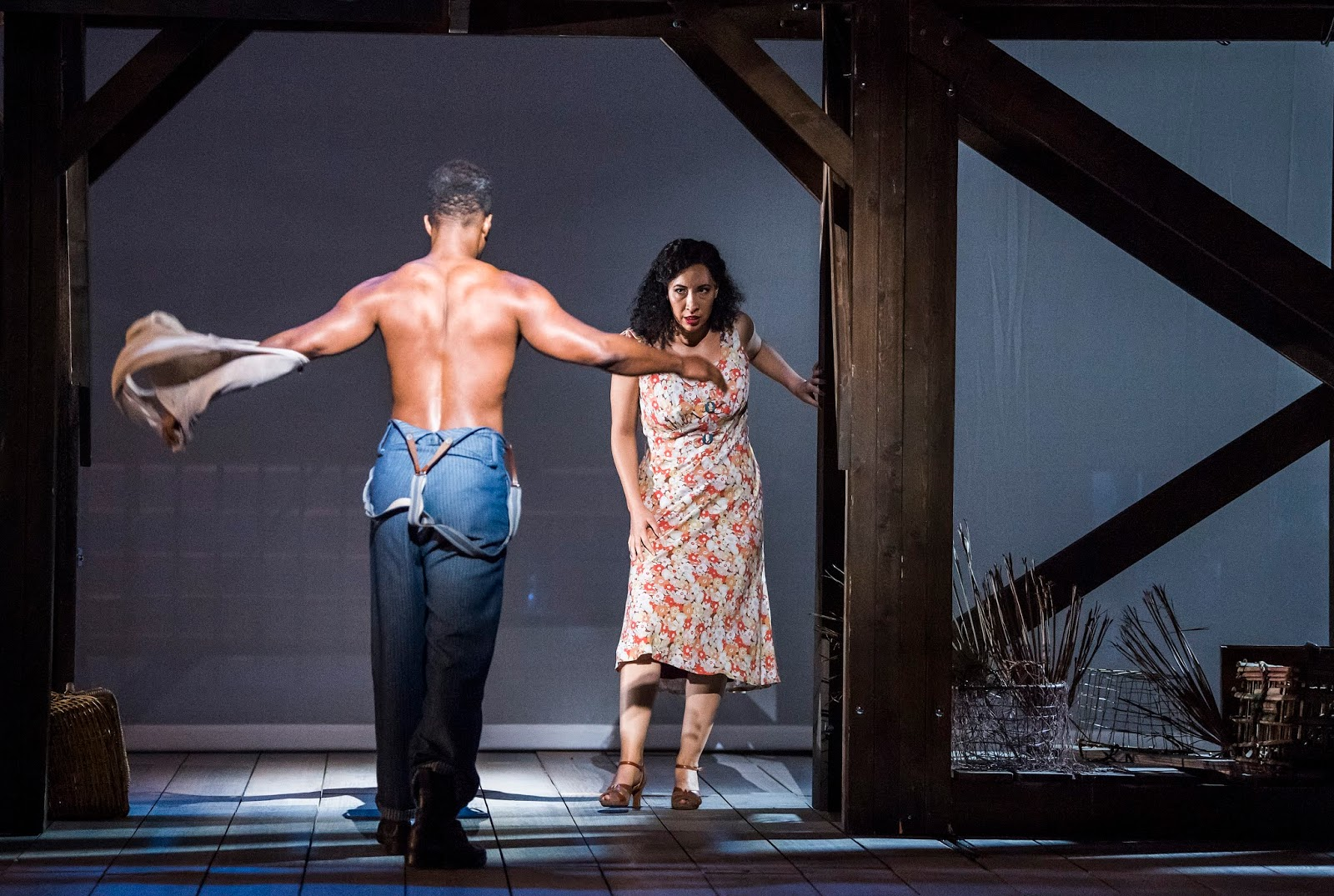 Gershwin: Porgy and Bess - Nmon Ford, Nicole Cabell - English National Opera (Photo Tristram Kenton)*