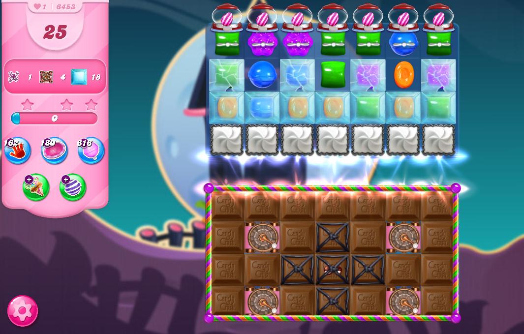 Candy Crush Saga level 6453