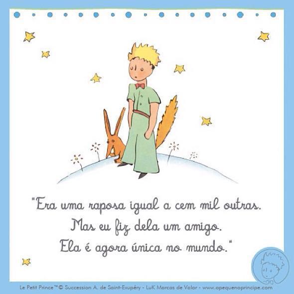 Frases Em Francês Pequeno Príncipe