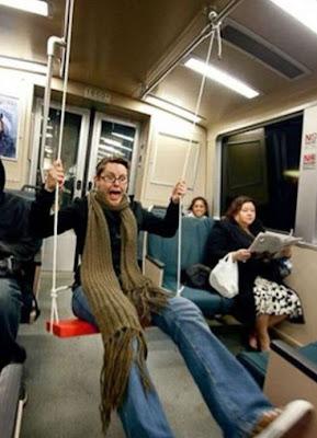 espacio personal en el metro · conlosochosentidos.es