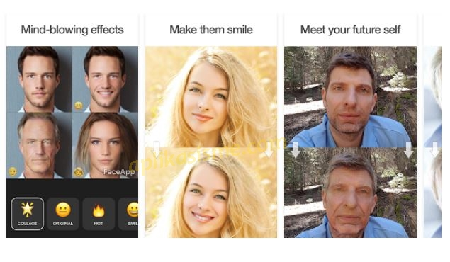 cara edit foto menjadi tua, cara edit foto menjadi muda, edit foto menjadi keriput, face app, aplikasi rekayasa wajah face app, cara membuat foto menjadi tersenyum, cara membuat fotomenjadi sunyum manis, edit foto menjadi nenek-nenek, edit foto menjadi kakek kakek