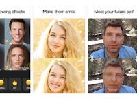 Aplikasi Rekayasa Wajah Face App