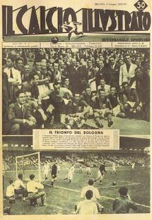 """""""Il Calcio Illustrato"""" celebra la vittoria dei rosso-blu ottenuta in quel di Parigi ai danni del Chelsea."""