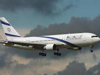 Pesawat Israel Dilarang Melintas Wilayah Udara Indonesia