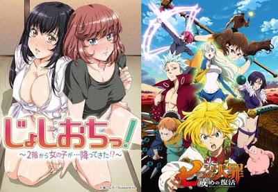 rekomendasi anime ecchi terbaik paling hot dewasa oppai gede waifu