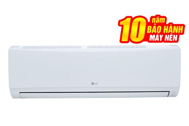 Điều hòa LG V10APM 9600btu 1 chiều inverter
