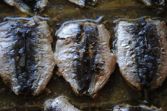 εύκολη συνταγή για σαρδέλες παντρεμένες