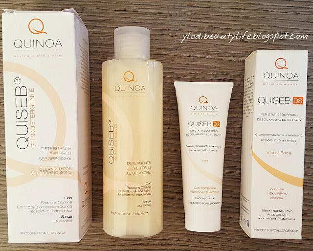 Sebodetergente e Crema linea Quiseb di Quinoa.it