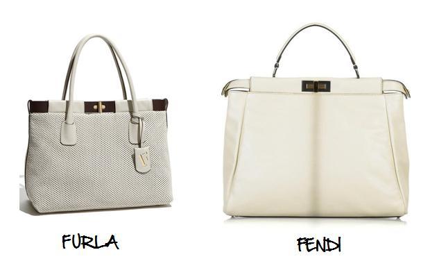 Clones 2011 bolso Peekaboo bag Fendi Furla