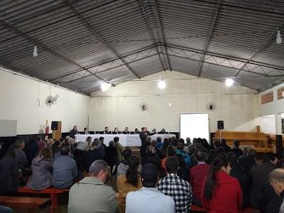 CPRM participa de audiência pública de apresentação do 11º Relatório de Monitoramento dos Indicadores Ambientais da Bacia Carbonífera de SC