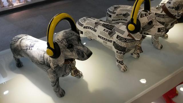 Itens de decoração - cachorros
