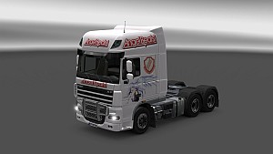 Angel Beats skin and interior for DAF XF