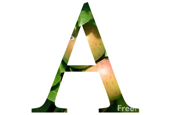 Colorful English Letter A To Z
