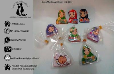 Souvenir pernikahan harga dibawah 1000 Bros Muslimah