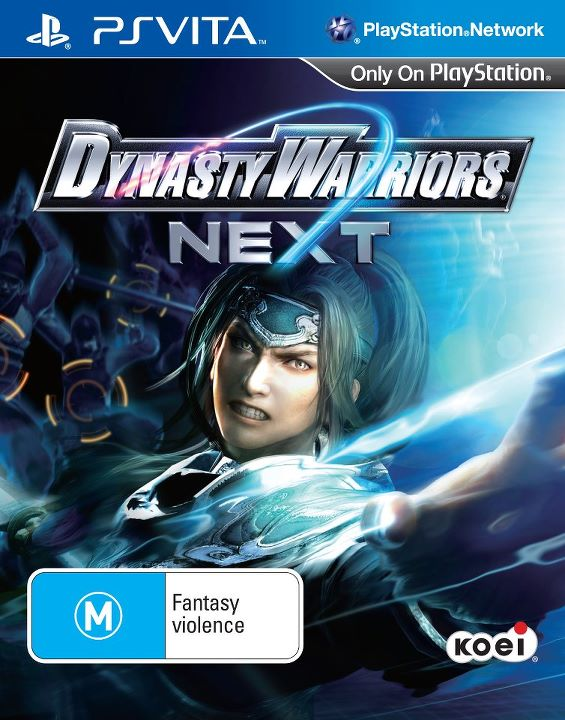 Dynasty Warriors NEXT Boxart Revealed